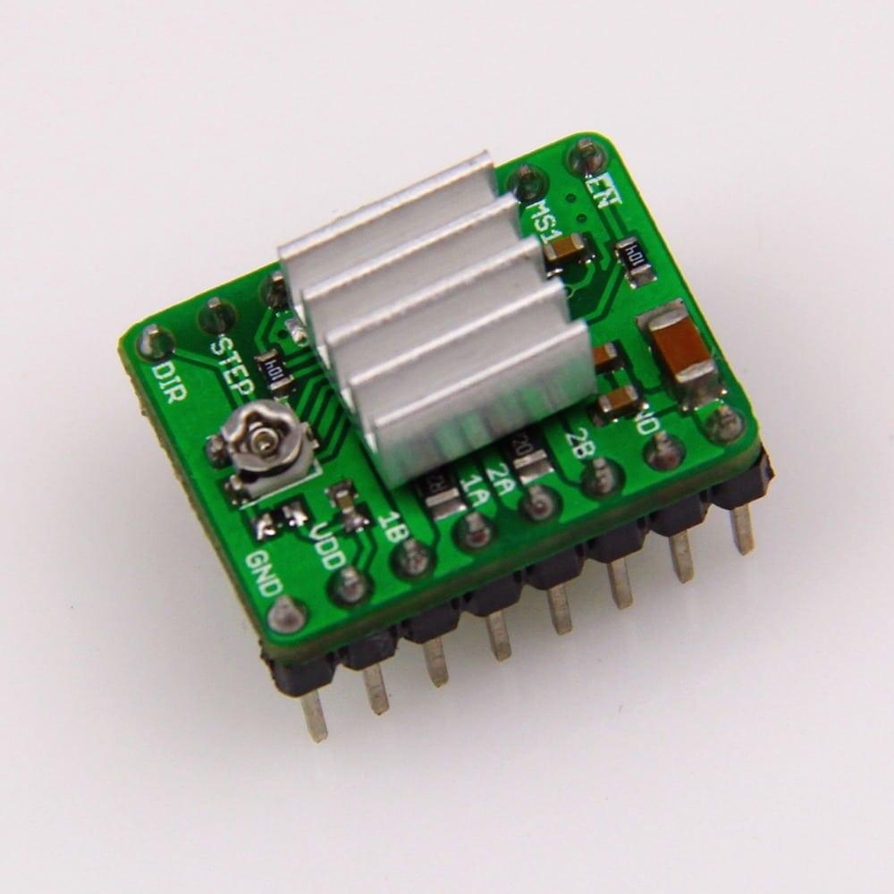 Stepper motor driver a4988 heatsink jjrobots for What is a stepper motor controller
